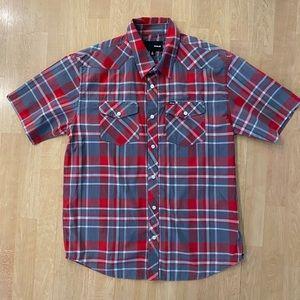 Hurley Men's Button Up shirt Size L